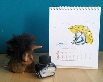 Calendar 2018 (illustrations)