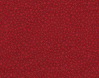 RJR Christmas Remembered Lynette Jenson Thimbleberries Red Star 2771-001 Fabric BTY