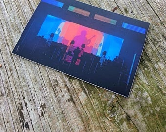 """Pretty Lights Live Sticker """"Color Map of the Bass Slap"""" Edition"""