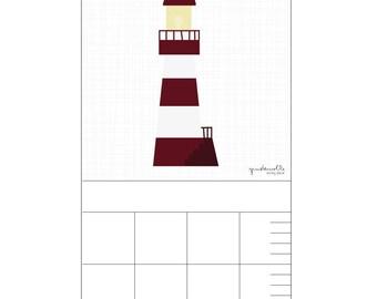 Bar for child's room – lighthouse