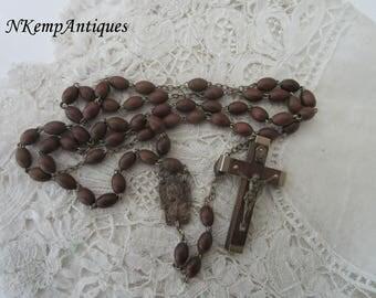 Lourdes rosary 1920's