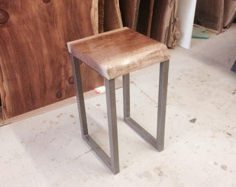 Custom Live Edge Side Table - Side Table - Live Edge End Table - End Table - Nest Table - Custom Live Edge Furniture