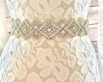 Bridal sash belt, crystal belt, crystal bridal belt, crystal wedding belt, diamond bridal belt, narrow wedding belt
