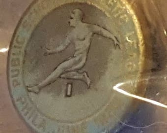 Philadelphia Public Schools Athletic League Pin June 1928