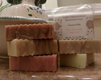 Lemongrass Coconut Milk Soap