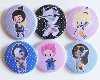 Sharodactyl Overwatch Buttons 1