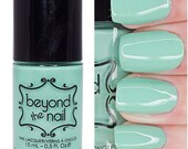 Pearly Dragon Tooth - Subtle Holographic Green Creme Nail Polish