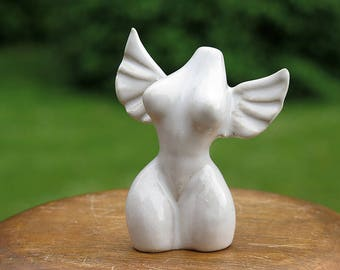 White Angel Venus Mini Figurine