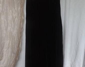 Velvet Halter Dress
