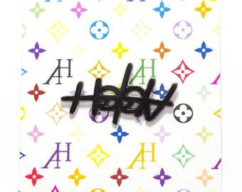 Allways Holdn Logo Pin Black Edition