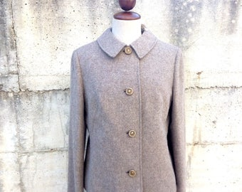 Vintage woolen jacket made in italy size M, 1950s
