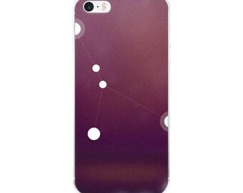 iPhone 5/5s/Se, 6/6s, 6/6s Plus Case - Zodiac Cancer Constellation iPhone Case