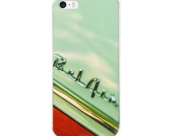 iPhone 5/5s/Se, 6/6s, 6/6s Plus Case - Red Silo Original Art - Chevy Bel Air 1