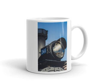 Mug - Red Silo Original Art - Engine 346