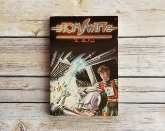 Tom Swift The Alien Probe Teen Sci Fi Gift Geeky Space Adventure 1981 Alien Story Tom Swift Series Book 3 Space Ship Thriller Book Present