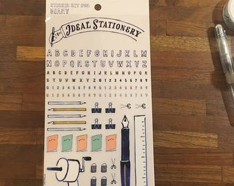 Limited Chalkboy x eslite stickers / for Diary  stationery