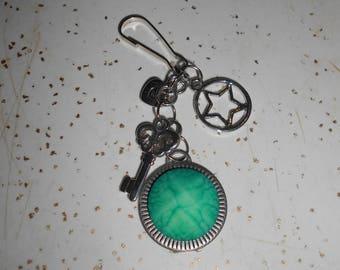 Key To My Heart Zipper Charm