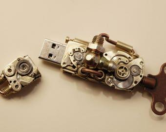Steampunk 32 Gb USB Flash drive