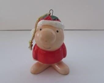 1980 Ziggy Christmas Ornament, Ziggy Collectible, Ziggy Holiday Decor, Ornaments, Ziggy Ornaments, Vintage Ziggy Ornament, Holiday Decor