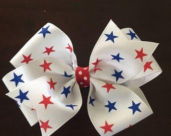 Star spangled bow