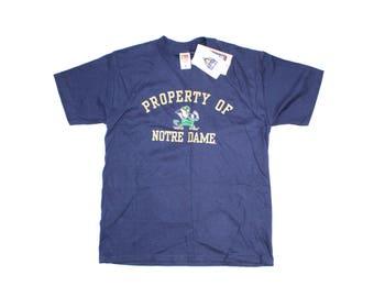 Vintage Fighting Irish Notre Dame T-shirt