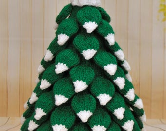 KNITTING PATTERN - Christmas Tree Knitting Pattern Download From Knitting by Post