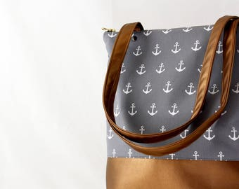 NEW! Copper anchor bag Messenger