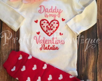 Baby girl First Valentine's Day Shirt -- Valentine's Outfit --Valentine's Shirt -- 1st Valentine's Girls Shirt -- Valentine's Outfit - You p