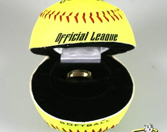 Softball Ring Box