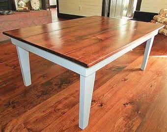 Farm-Style Coffee Table