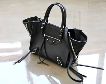 Womens Genuine Leather Tote Bag Shopper Bag Crossbody Shoulde Bag 5694