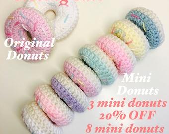Closing sale, Crochet donuts