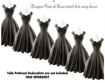 20% OFF Sale! 6 Rockabilly Grey Wedding Dresses, Vintage BRIDESMAID DRESS! Retro Swing Dresses Handmade by Hardley Dangerous, Custom Made
