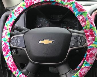 Floral Rose Steering Wheel Cover **BEST  SELLER**