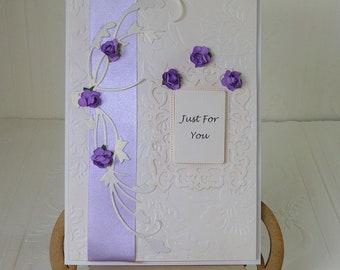 Birthday Card, for Wife, Daughter, Mum, Grandma, etc.