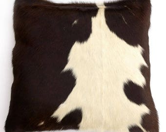 Natural Cowhide Luxurious Hair On Cushion/ Pillow Cover (15''x 15'') A88