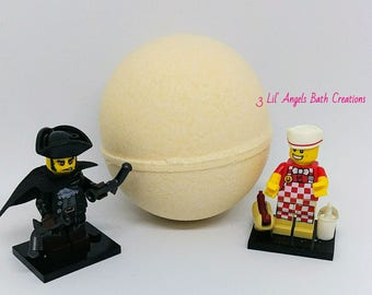 Lego Mini Figure Bath bomb, surprise toy bath bomb, bath bomb for kids, Surprise bath Bomb