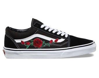 vans con le rose