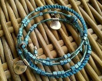 TRIBAL DREAM spiral bracelet