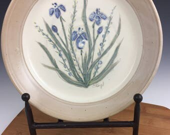 Platter, Serving Plate, Decorative Plate, Flowered