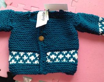 Thick woolen Cardigan