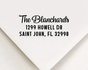 Return Address Stamp, Custom Stamp, Self Inking Stamp, Wedding Address Stamp, Custom Address Stamp, Housewarming Gift, Realtor Gift