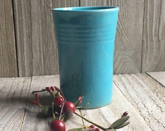 Vintage Fiestaware - Juice Tumbler, Turquoise