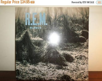 Save 30% Today Vintage 1984 Vinyl LP Record Murmur REM Near Mint Condition 11312