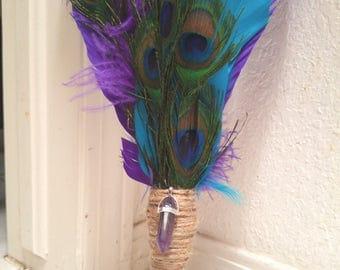 Peacock Ritual  Fan
