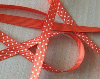 pretty Ribbon grosgrain orange 108