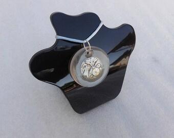 Retail vintage watch movement pendant