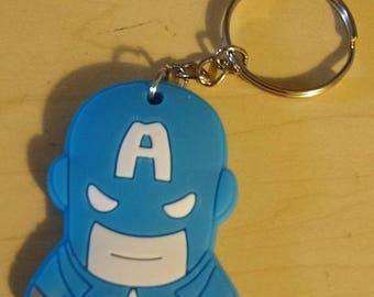 Retrocon Sale - PVC Keychain - Captain America