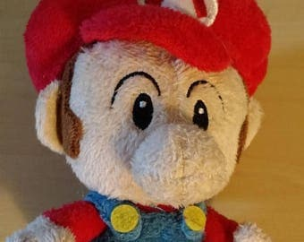 Retrocon Sale - 5 inch Plush Baby Mario Doll - Super Mario