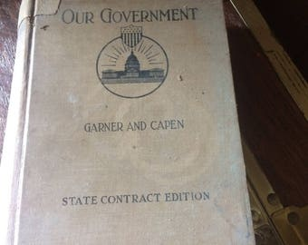 Our Government by Garner and Capen